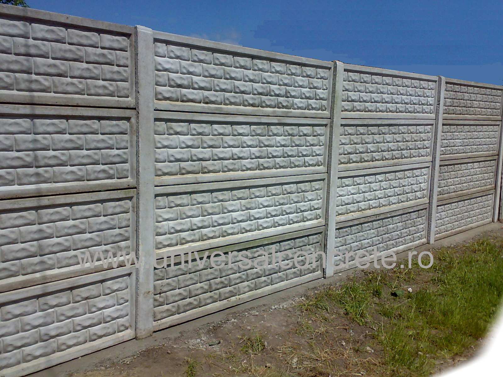 Gard de beton preturi